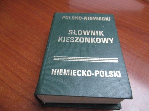 słownik kieszonkowy Polsko-Niemiecki i Niemiecko - Polski