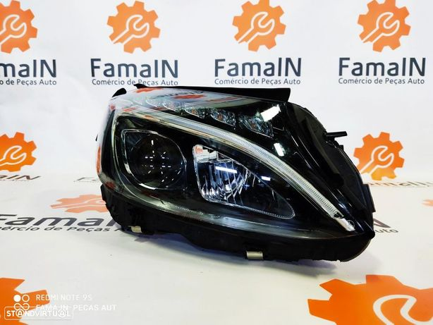 Conjunto óticas - Mercedes Benz W205 Full LED MATRIX