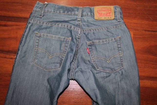 LEVIS 511 SKINNY jeansy oryginalne roz. W 25 L 25 w pasie 68 cm