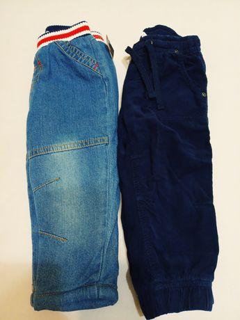 Spodnie ocieplane 86 H&M
