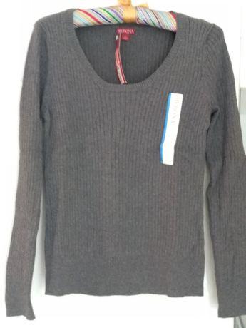 Sweter szary rozmiar L