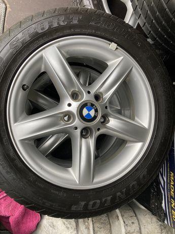 Alufelgi 5x120 BMW z oponami letnimi. BMW e46
