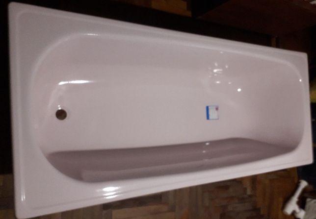 Стальная ванна розового цвета 170х70, новая