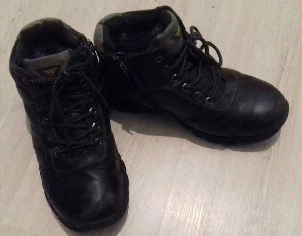 Зимние ботинки мальчику размер 38