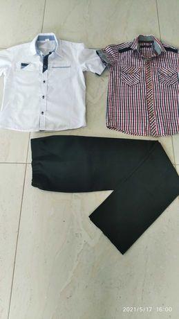 Modne i wygodne - zestaw koszul wizytowych na lato + spodnie