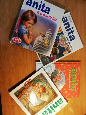 Livros da Anita (vende-se em separado)