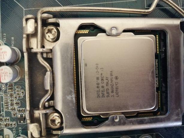 Motherboard e CPU I3