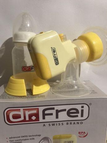 Молоковідсмоктувач/молокоотсос dr.frei электро/електро