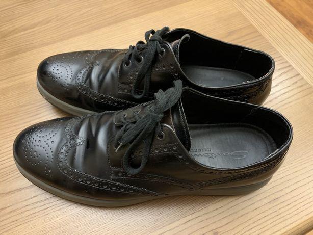Туфли броги Santoni 45 размер (сделаны в Италии)