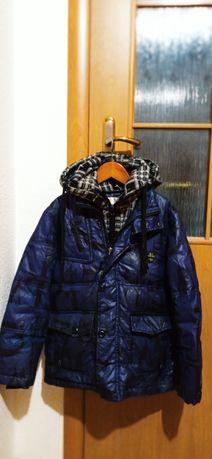 Курточка зимова на хлопчика наповнювач пух