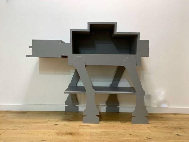 Szafka półka regał star wars gwiezdne wojny robot szara duża dziecieca