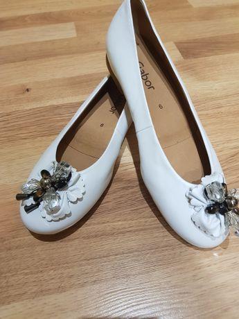 Туфлі,балетки жін.,шкіра,39р,Gabor