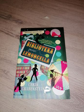 "Książka ""Biblioteka Pana Lemoncella"" Chris Grabenstein"