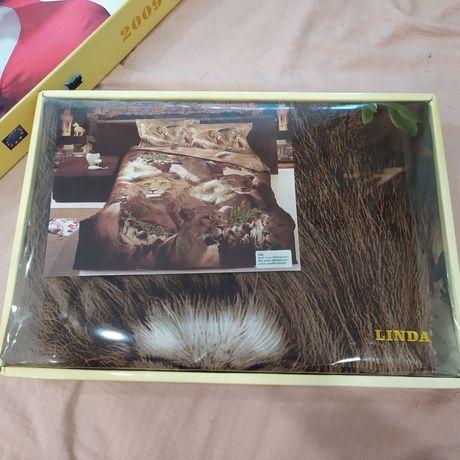 Комплект постельного белья Linda полуторный Турция
