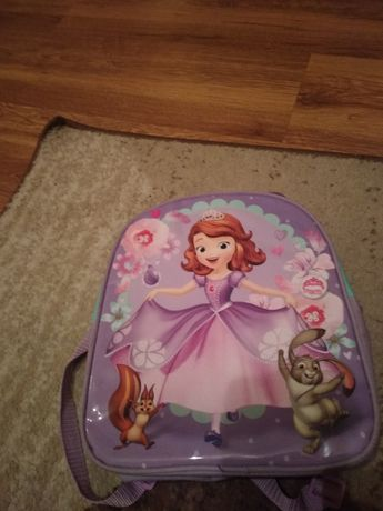 Plecak księżniczką Zosią