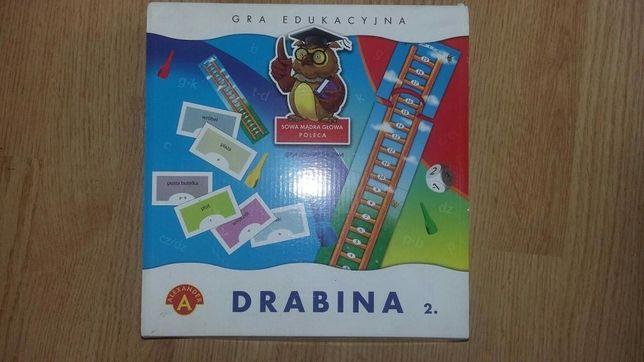 "Gra edukacyjna ""Drabina 2""... jak nowa!!!"