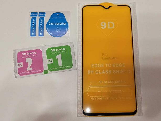 Защитное стекло XIAOMI Redmi Note 8 Pro 9D с полной проклейкой