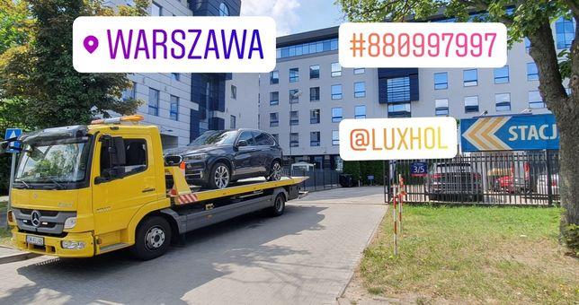 Od 100zl Pomoc Drogowa Warszawa 24h Autolaweta Laweta Holowanie Busy