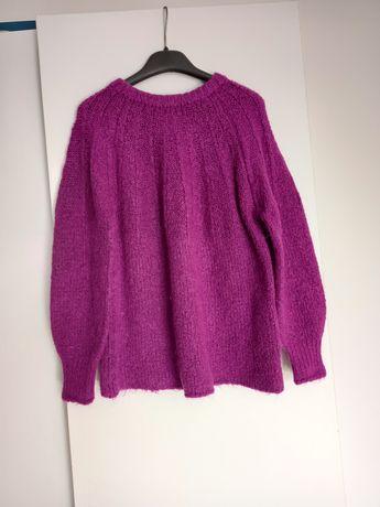 Różowy sweter 134