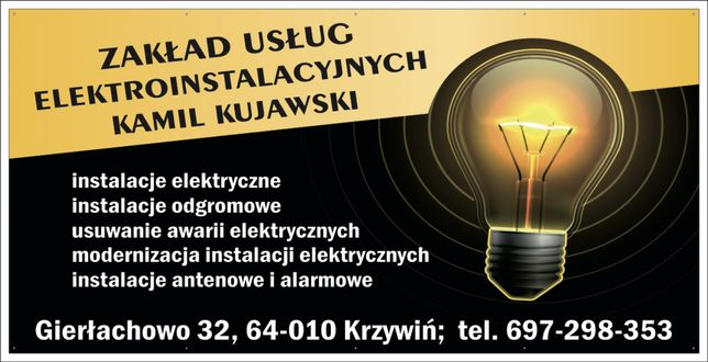 Zaklad Usług Elektroinstalacyjnych.