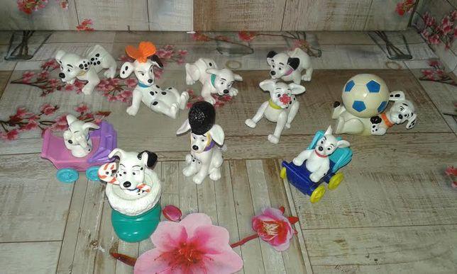 101 Dalmatas Disney bonecos figuras mcdonalds