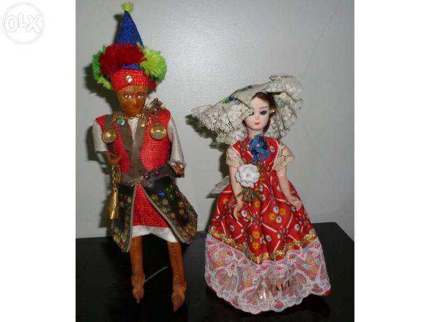 Boneca grega/boneco mexicano / boneca maltesa