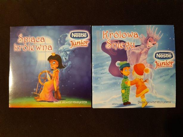 Bajki słowno-muzyczne: Królowa Śniegu (CD) + Śpiąca królewna (CD)