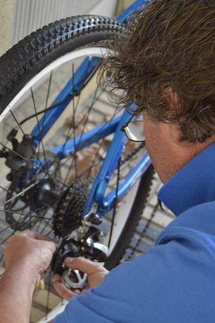 Serviço de Montagem de bicicletas
