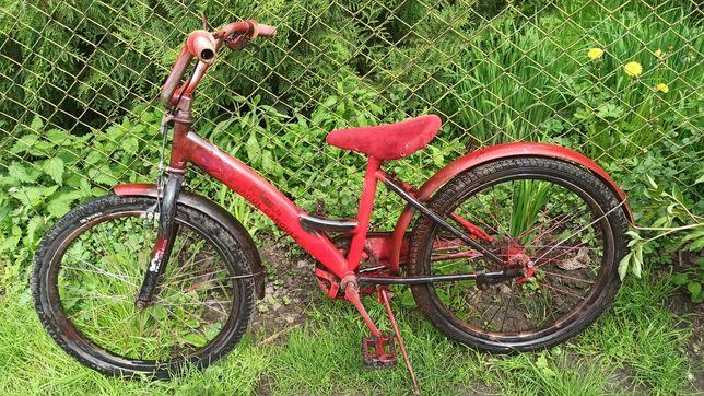 Велосипед на 5-8 років
