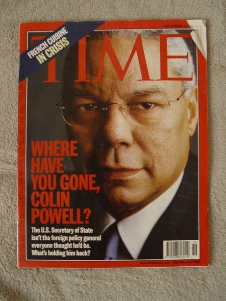 Tygodniki Newsweek z 2002 i 2003 oraz tygodnik Time z 2001