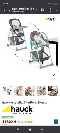 Krzesełko do karmienia, leżaczek  2 w 1 od 1 dnia. Hauck