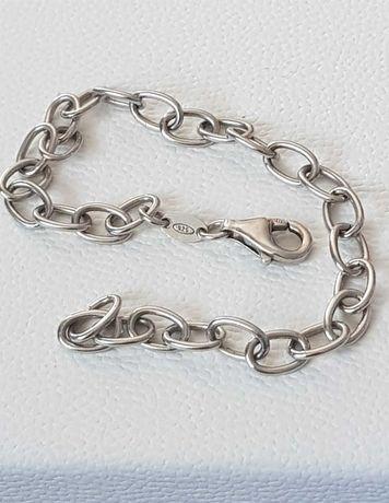 Bransoleta srebro 925 ankier 20 cm Włochy
