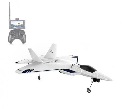 Самолет с HD камерой GPS и FPV передача видео Hubsan F22+монитор