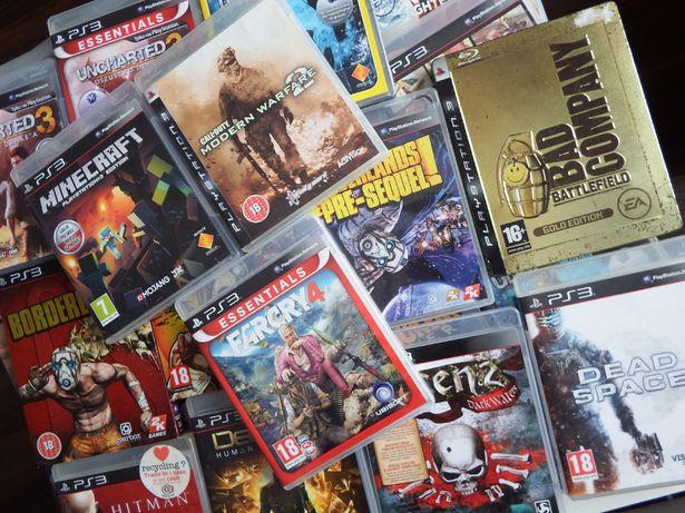 GRY PS3 Minecraft BATTLEFIELD Uncharted FARCRY mega tytuły stan BDB