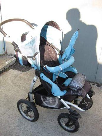 Wózek dziecięcy X-LANDER 3w1 (nowa gondola), gratisy - Polecam !