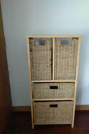 Móvel aparador de gavetas/ pequena cómoda