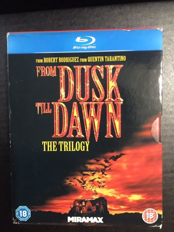 DVD blueray box set: From Dusk till Down trilogy