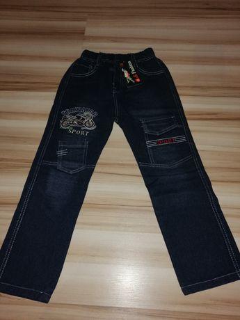 Nowe Jeansy 122cm