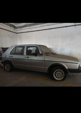 Golf 1 de 1982 - carro de coleção
