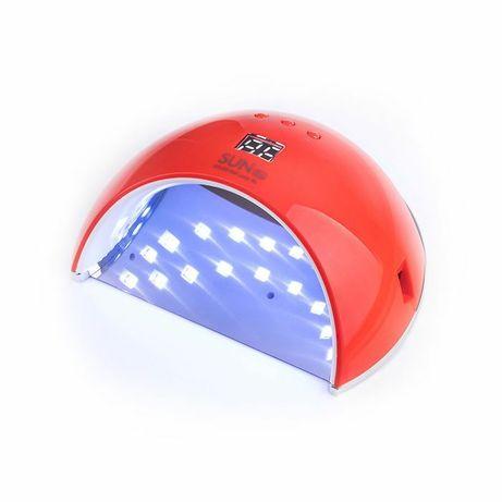 Лампа для маникюра, LED/UV гибрид SUN 6S 48 Вт с дисплеем