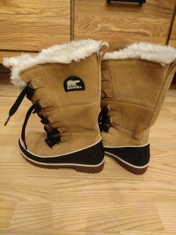 Buty śniegowce SOREL damskie idelne 36.5