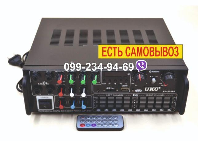 Стереоусилитель звука AMP 326 BT
