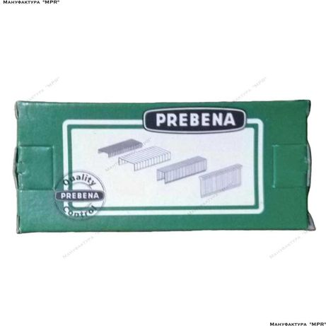 Скобы E-40 к пневмостеплеру (1000 ед.) каркасные PREBENA staple-E