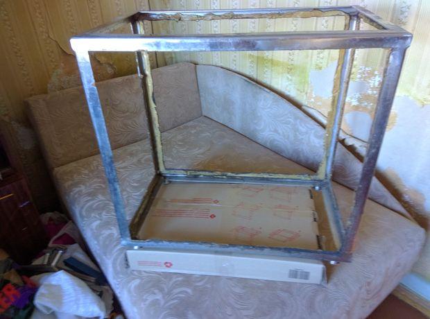 Каркас аквариума нержавка 115 литров 60х35х55