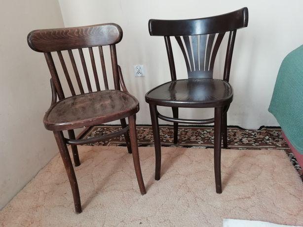 Do renowacji PRL krzesła i wieszak