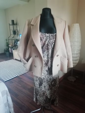 Płaszcz damski oversize 42 44