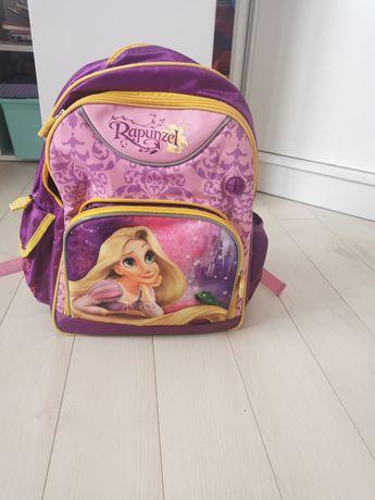 Plecak dziewczęcy z Roszpunką