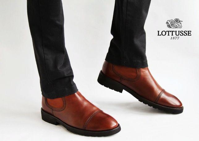 кожаные ботинки челси Lottusse 1877, Hand Made . Bally,Loake