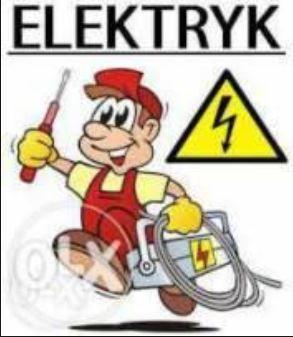 Elektryk, usługi elektryczne, monitoring, maty i folie grzewcze