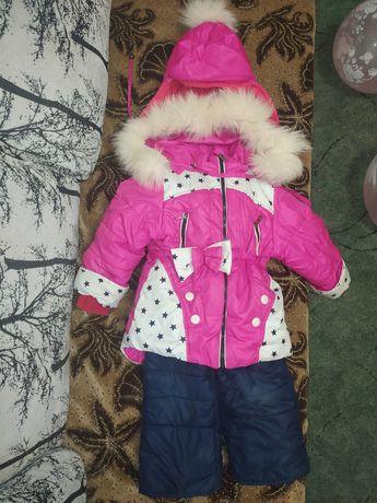 Курточка ,комбез 2-4 годика, зимний
